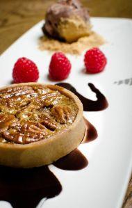 pecan pie at Brasserie Sixty6 restaurants dublin